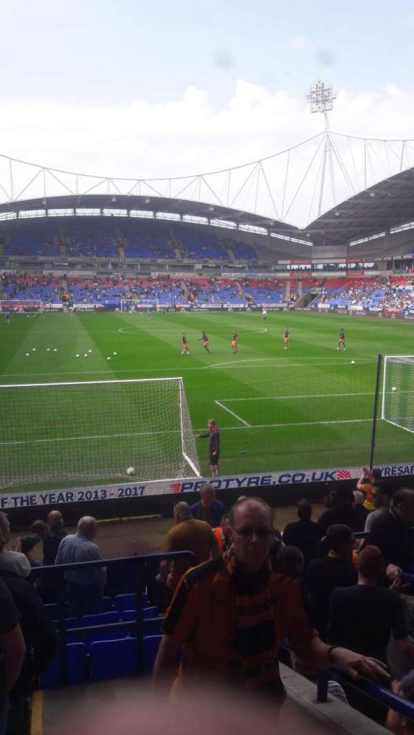 University of Bolton Stadium, section: Block E, row: N, seat: 79