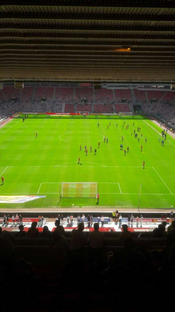 Stadium Of Light, section: P32, row: 16, seat: 75