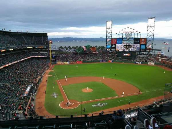 AT&T Park, section: 314, row: 2, seat: 17