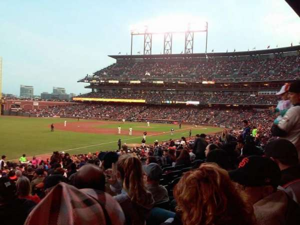 AT&T Park, section: 131, row: 31, seat: 6