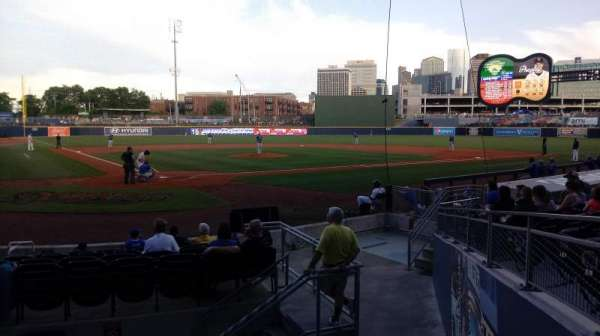 First Horizon Park, section: 114, row: N, seat: 1-2