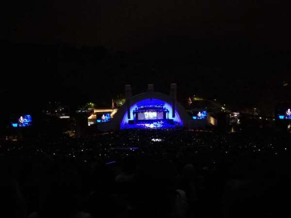Hollywood Bowl, section: S, row: 10, seat: 121