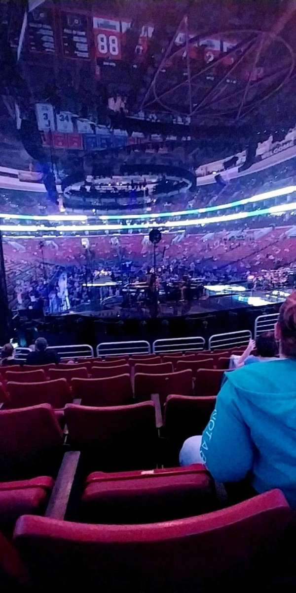 Wells Fargo Center, section: 218, row: 17, seat: 10