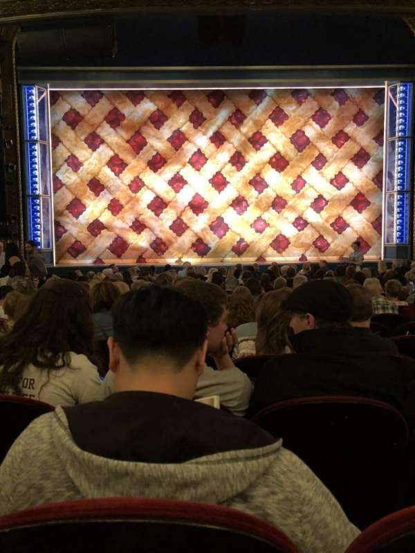 Brooks Atkinson Theatre, section: ORCH, row: O, seat: 106