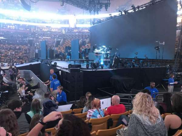 TD Garden, section: Loge 21, row: 6, seat: 5