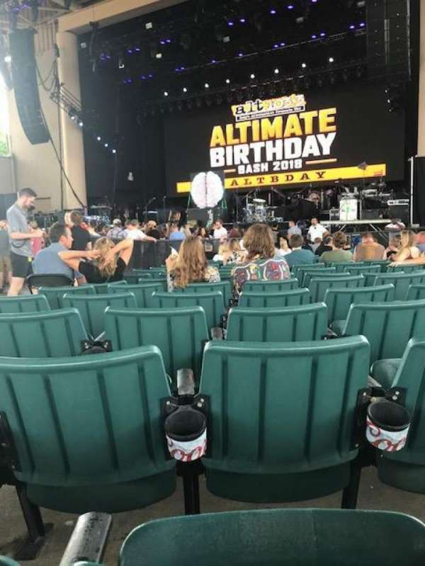 Ruoff Home Mortgage Music Center, section: C, row: W, seat: 4