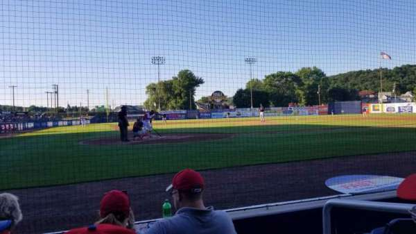 BB&T Ballpark at Historic Bowman Field, section: F, row: D, seat: 2