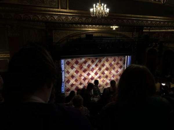 Brooks Atkinson Theatre, section: Left Mezzanine, row: L, seat: 5