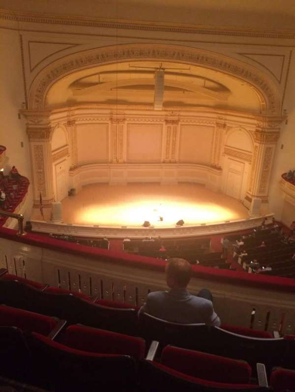 Carnegie Hall, section: Dress Circle LC, row: DD, seat: 11