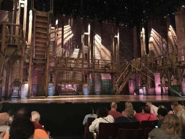 Richard Rodgers Theatre, section: Orchestra L, row: F, seat: 1
