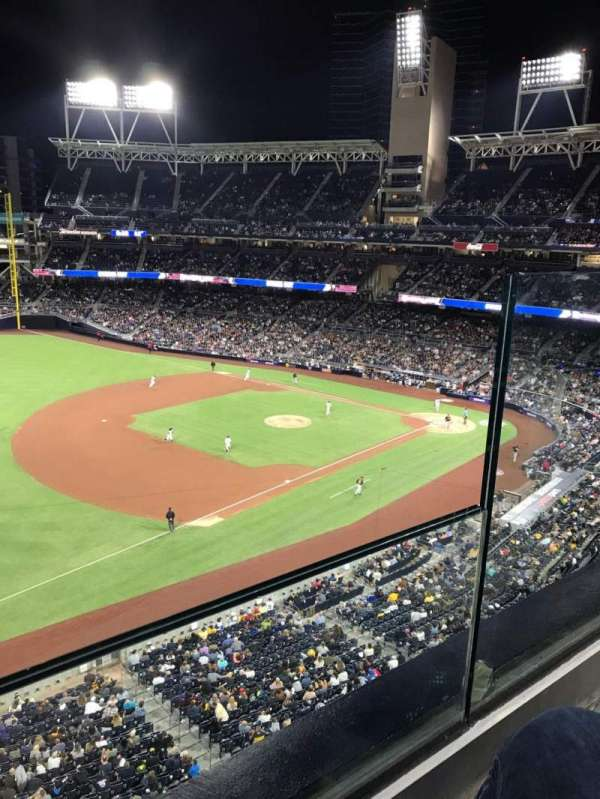 PETCO Park, section: 320, row: 1, seat: 2