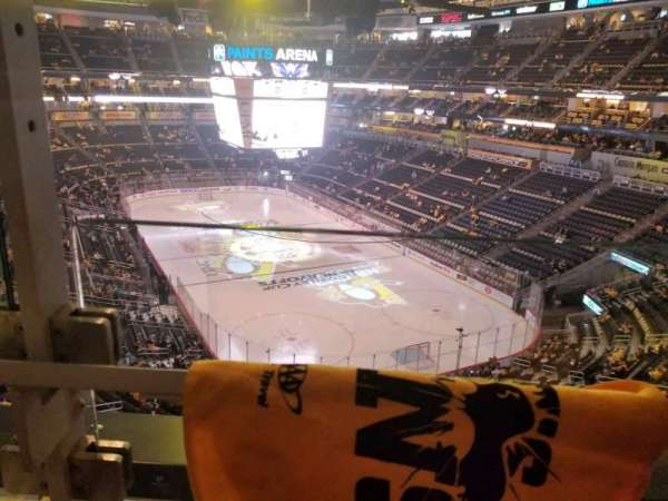 PPG Paints Arena, section: 230, row: a, seat: 1