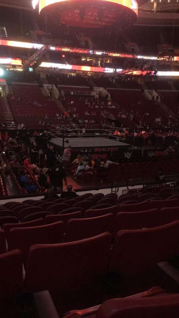 Wells Fargo Center, section: 112, row: 11, seat: 13