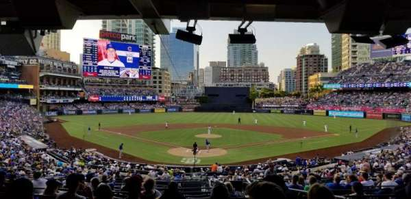 PETCO Park, section: G, row: 16, seat: 9