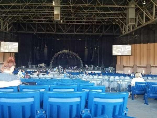 Sunlight Supply Amphitheater, section: 204, row: K, seat: 1
