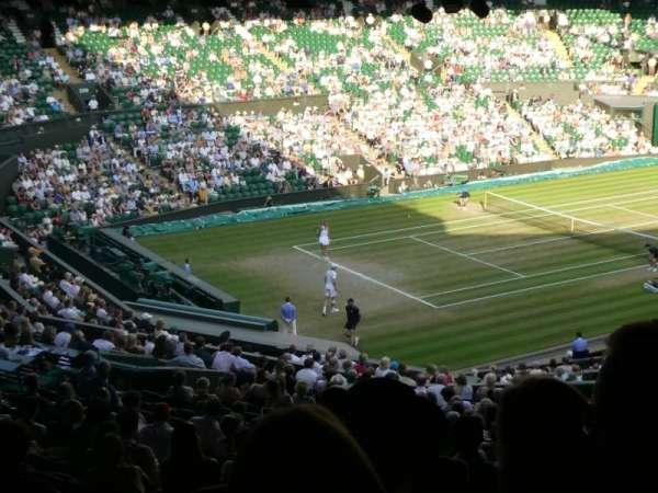 Wimbledon, Centre Court, section: Gangway 506, row: Z, seat: 141