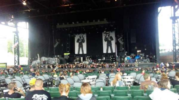 S&T Bank Music Park, section: M, row: 6, seat: 9