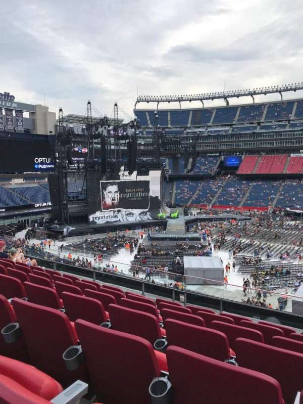 Gillette Stadium, section: C9, row: 7, seat: 6