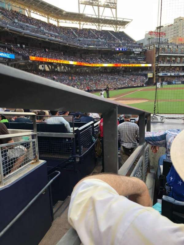 PETCO Park, section: 105, row: 11, seat: 13