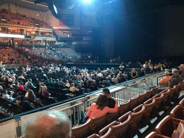 SNHU Arena, section: 121, row: F, seat: 14
