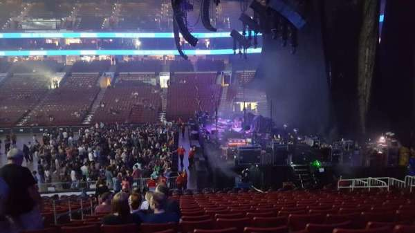 Wells Fargo Center, section: 115, row: 22, seat: 2
