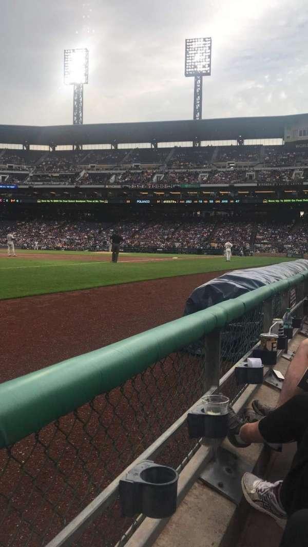 PNC Park, section: 28, row: A, seat: 9