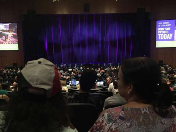 The Theater at MGM National Harbor, section: 103, row: N, seat: 11