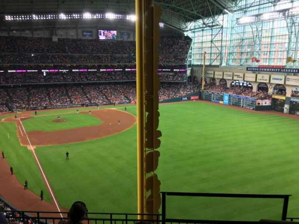 Minute Maid Park, section: 346, row: 4, seat: 15