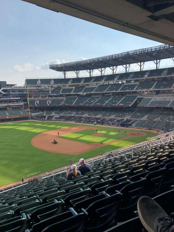 SunTrust Park, section: 239, row: 18