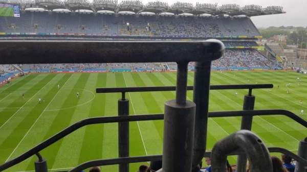 Croke Park, section: 708, row: I, seat: 15