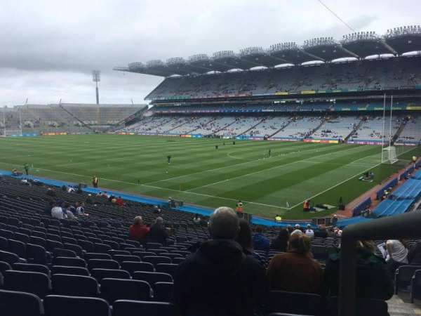Croke Park, section: 326, row: MM, seat: 2