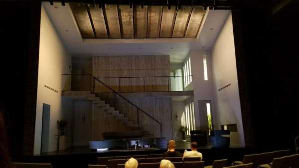 Laura Pels Theatre, section: Orchestra, row: K, seat: 109