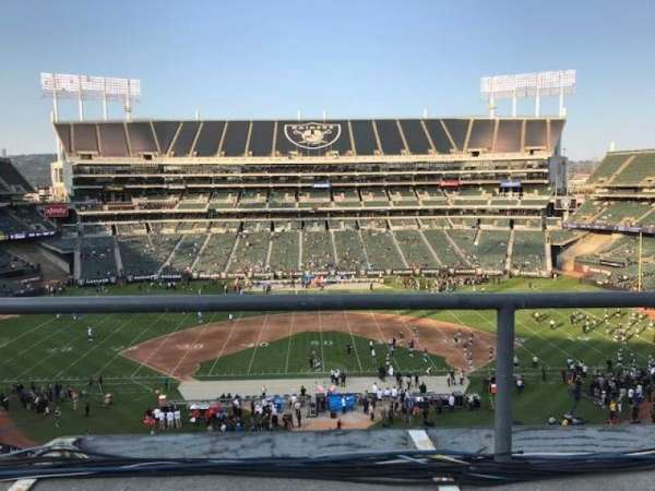 Oakland Alameda Coliseum, section: 317, row: 1, seat: 10