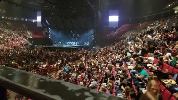 Moda Center, section: 115, row: M, seat: 1