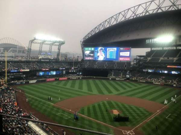 Safeco Field, section: 332, row: 1, seat: 1
