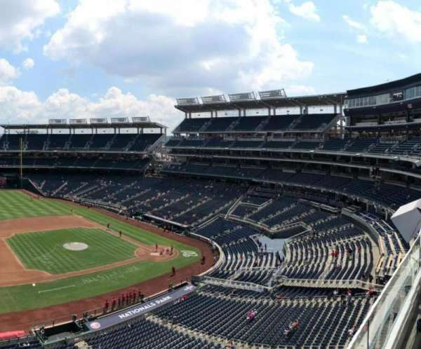Nationals Park, section: 307, row: A, seat: 20