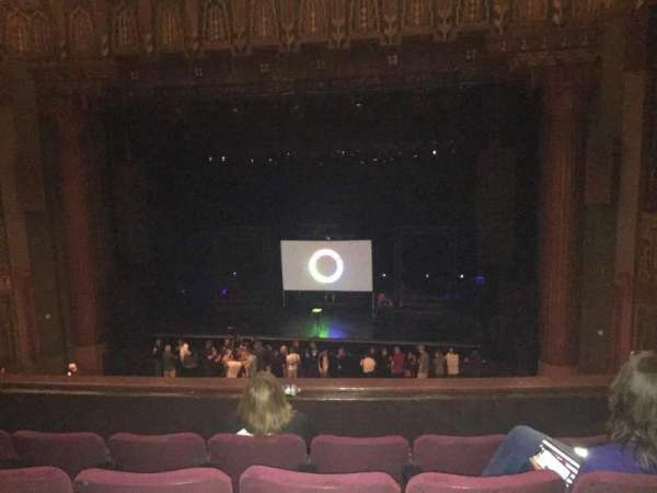The Wiltern, section: Loge, row: DD, seat: 120