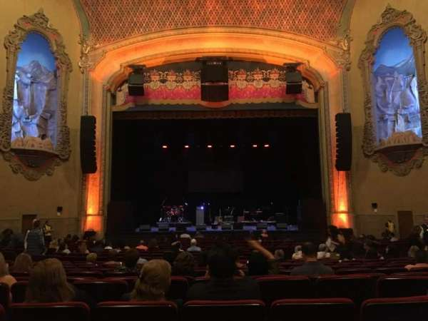 Balboa Theatre, section: Orchestra, row: U, seat: 112