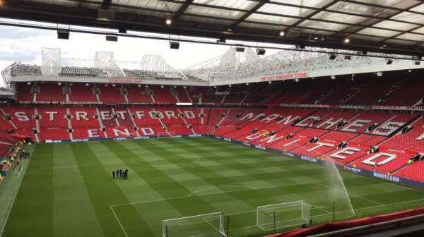 Old Trafford, section: E331, row: 4, seat: 153