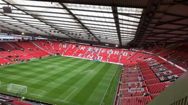 Old Trafford, section: E336, row: 26, seat: 1