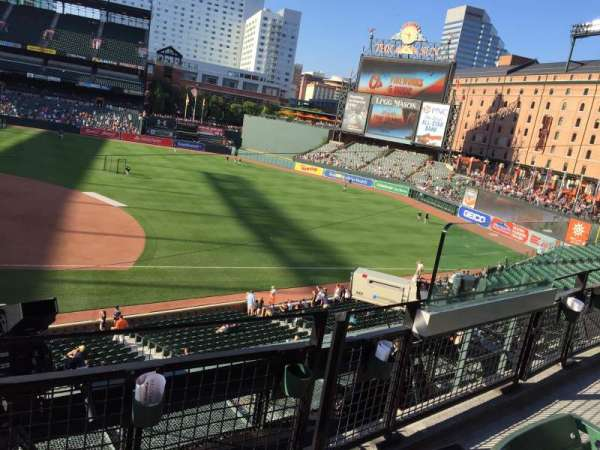 Oriole Park at Camden Yards, section: 220, row: 2, seat: 3