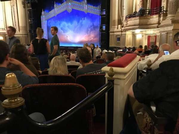 Boston Opera House, section: ORCBXR, row: S, seat: 50