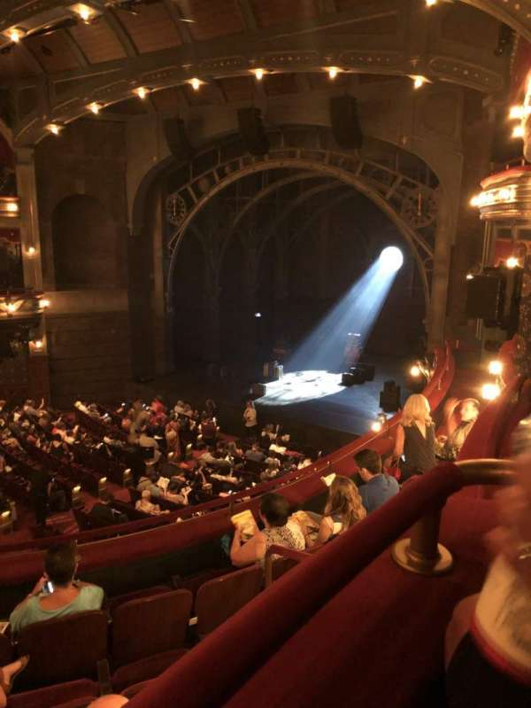 Lyric Theatre, section: Dress Circle R, row: Box C, seat: Seat 1