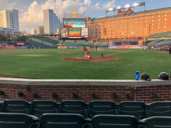 Oriole Park at Camden Yards, section: 40, row: 4, seat: 4