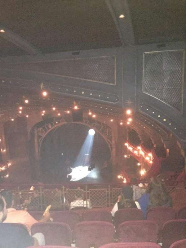 Lyric Theatre, section: Balcony R, row: G, seat: 18