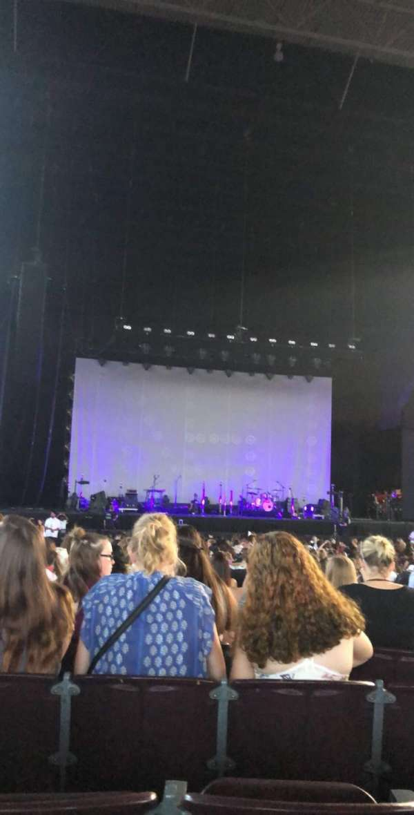 Jiffy Lube Live, section: 102, row: M, seat: 43