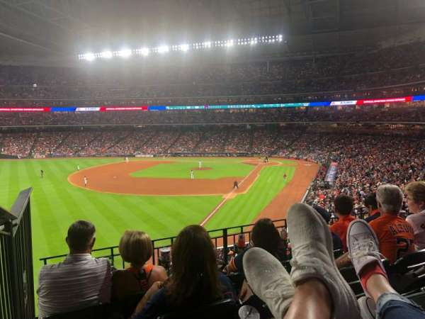 Minute Maid Park, section: 205, row: 4, seat: 1