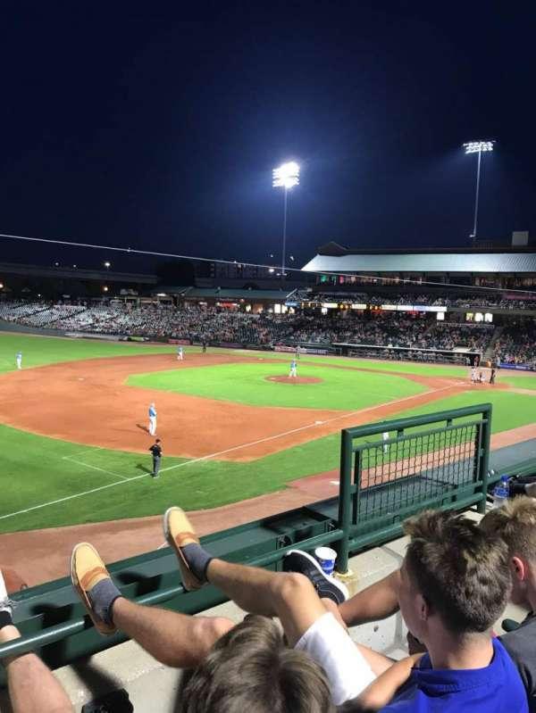 Louisville Slugger Field, section: 224, row: B, seat: 4