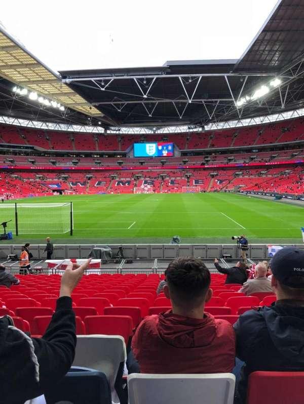 Wembley stadium , section: 132, row: 18, seat: 290