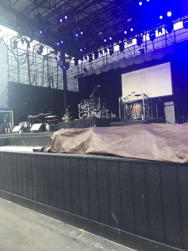 Grandstand at the Washington State Fair, section: D1, row: 2, seat: 3